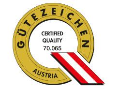 certificazione Austria bricchetti