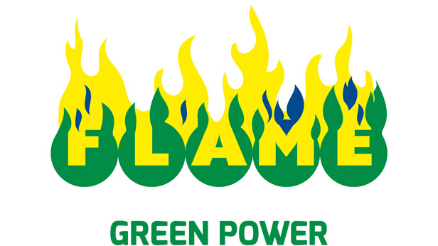 logo-flame green power